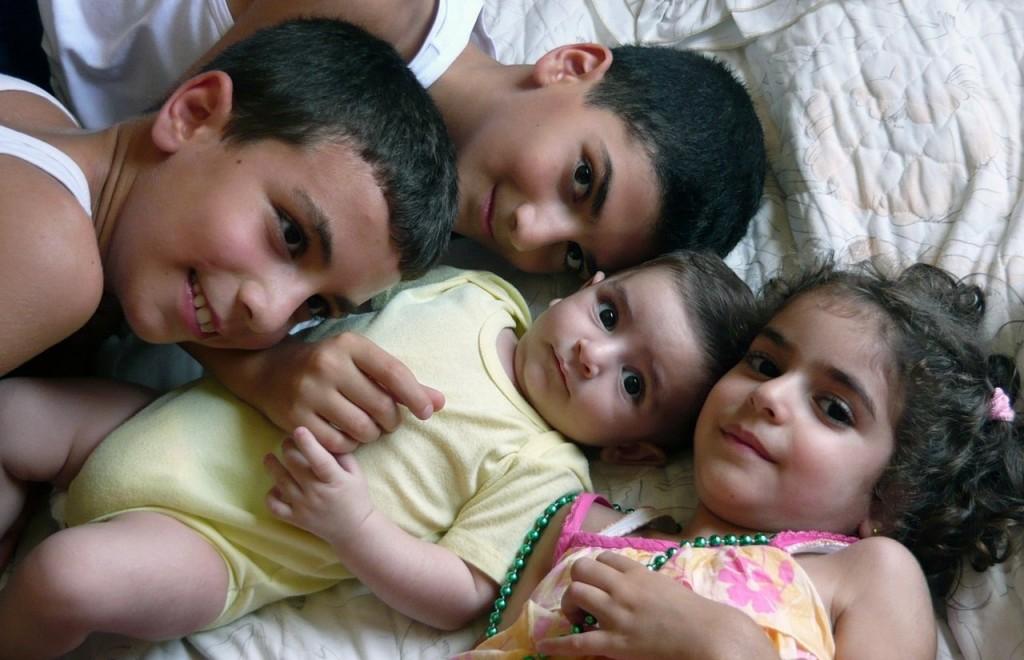 Kinder im Libanon